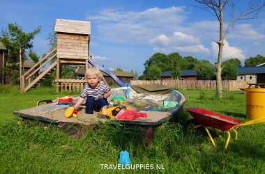 Boerenbed speeltuin
