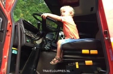 Reisblog Steyr truck