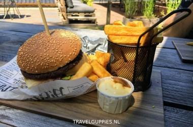 Sparjebird hamburger