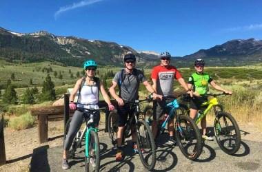 Mountainbiken in Mammoth Mountain