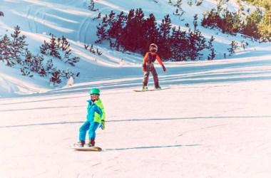 Snowboarden Mammoth Mountain