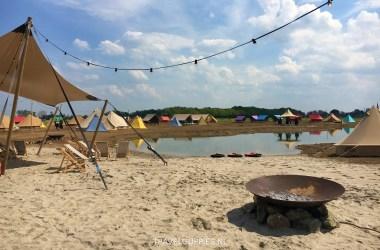 Beach Glamp Outdoor Camp